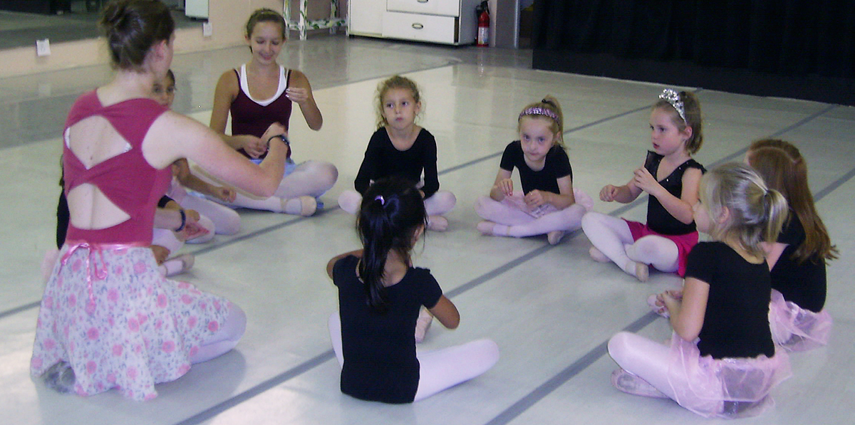 Pre-ballet classes